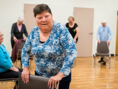 stroke-survivor-julia-cook-participates-in-an-exercise-class